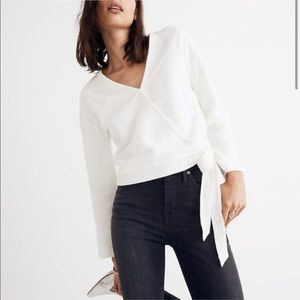Madewell Wrap-Tie Blouse